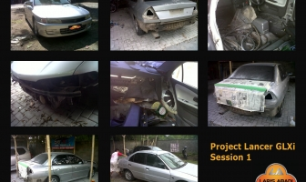 Project Mitsubishi Lancer CK4 GLXi '00 Pengecatan Full Body