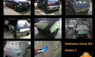 Daihatsu Ceria, Total Body Repaint.
