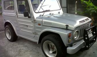 Restorasi Suzuki LJ 80  Jangkrik