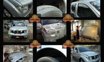 Nissan Navara 2008, Pengecatan Kap mesin, pilar pintu dan kolong.