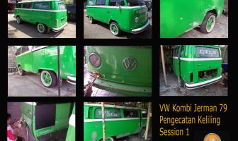 VW Kombi 1979 Pengecatan Ulang
