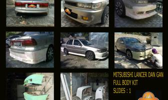 """Mitsubishi Lancer """"Dan Gan"""", pembuatan bodykit."""