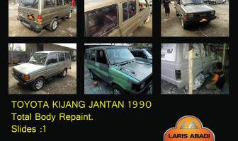 Toyota Kijang Jantan 1990, Rekondisi Cat Total.