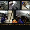 Daihatsu Xenia 2011, Rekondisi Pasca Kecelakaan