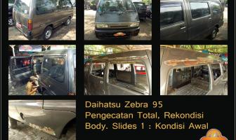 Daihatsu Zebra S89 1995, Pengecatan Total