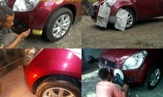 Suzuki Splash 2012, Pengecatan Minor Bumper.