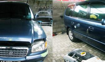 Hyundai Trajet, Rekondisi Kap Mesin, Pintu, Fender