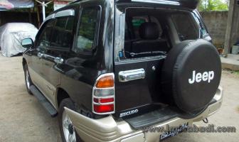 Suzuki Escudo 2003, Rekondisi Pintu Bagasi