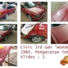 Civic Wonder 1984, Pengecatan Total