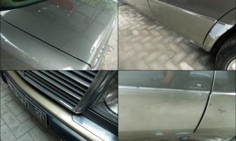 Mercedes Benz W124, Rekondisi Moulding & Bagasi