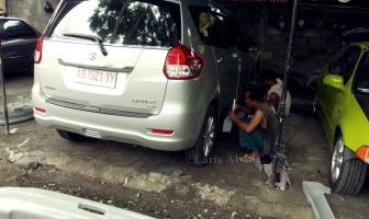 Suzuki Ertiga 2013, Pemasangan Pengecatan Bodykit