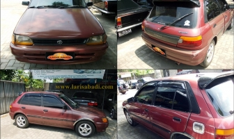 Toyota Starlet 1991, Pengecatan Total