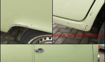 VW Kombi, Rekondisi Body Keropos & Cat Keliling.