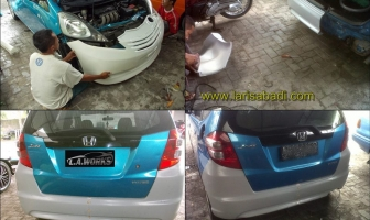 Honda Jazz S 2008, Bodykit Custom