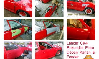Lancer CK4, Rekondisi Fender dan Pintu