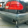 Mercedes Benz W210, Reparasi Bumper Belakang
