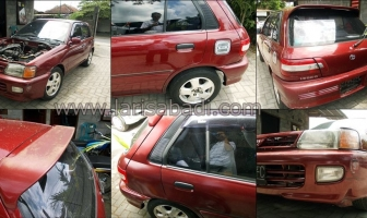 Toyota Starlet 97, Pengecatan Keliling