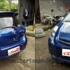 Toyota Yaris 07, Pembuatan Custom Bodykit Fiber