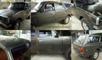 Toyota Hilux 1977, Restorasi Cat Total
