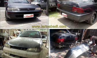 Toyota AE 101 Great Corolla, Pembuatan Bodykit Custom