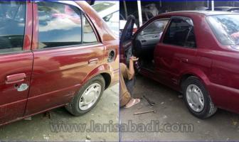 Toyota Soluna, Rekondisi Pintu Kiri & Bumper