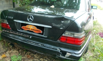 Mercedes Benz W124 Masterpiece, Repair Bumper
