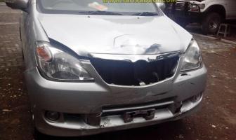 Toyota Avanza, Rekondisi Apron karena kecelakaan