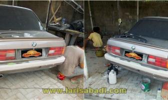 BMW E30, Rekondisi Bumper dan Cat Keliling
