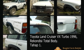 Land Cruiser VX J80, Pengecatan Total
