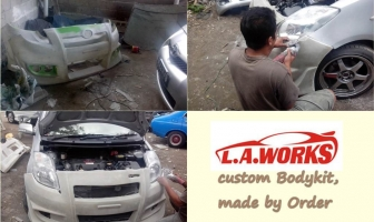 Toyota Yaris '08, Custom Bodykit