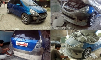 Honda Jazz 2006, Bodykit Custom