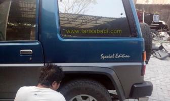 Daihatsu Feroza, Rekondisi Lambung dan Pintu Belakang