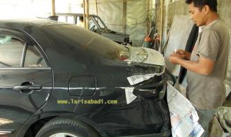 Corolla Altis 2011, Custom Spoiler