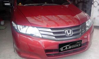 Honda City 2010, Pembuatan Grill & Ductail Custom