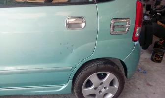Suzuki Karimun Estillo, Rekondisi Pintu Kiri Belakang dan kap mesin.