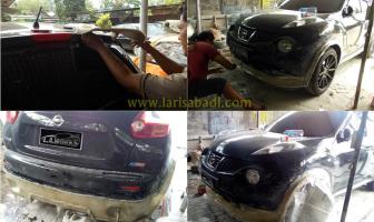 Nissan Juke, Pembuatan Bodykit & Spoiler Custom