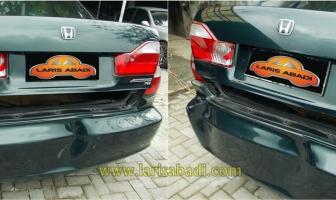 Honda Accord VTi, Rekondisi Body Belakang Karena Kecelakaan