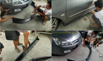 Honda Accord 2005, Pemasangan & Pengecatan Bodykit Add On