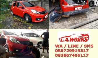 Honda Brio 2017, Pengecatan dan Pasang Bodykit Add On