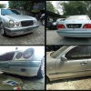 Mercedes Benz E230 W210, Custom Add On Bodykit