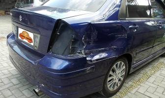 Suzuki Baleno Next G, Rekondisi Kecelakaan