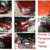 Honda City 1997, Pengecatan Total