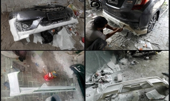 Honda Jazz Gk-5, Bodykit Add On Custom