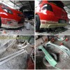 Toyota Yaris 2008, Pembuatan Bodykit Add On Custom