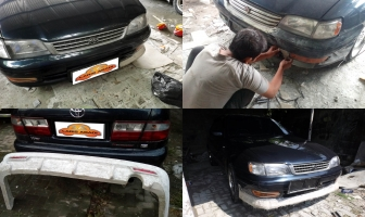 Absolute Corona, Modifikasi Bodykit