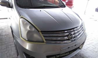 Poles Headlamp dengan Nano Burn Coating