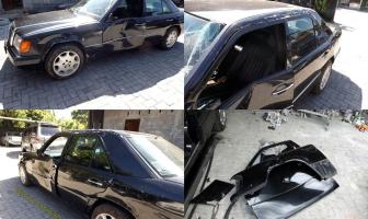 Mercedes Benz W124, Rekondisi Setelah Kecelakaan