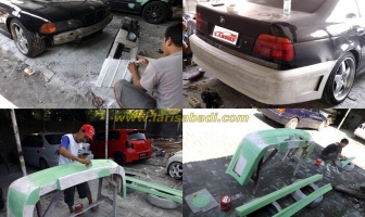 Bodykit Custom BMW 528i E39