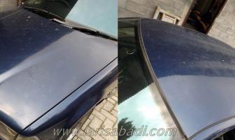 BMW E36, Pengecatan Atap dan Kap Mesin