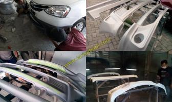 Toyota Etios, Pemasangan Bodykit Plastik